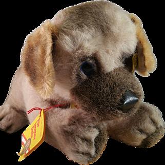 Steiff Welfo German Shepard Playing Puppy c1980