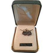 Sterling Vietnam War Transport Helicopter Military Army Charm – New in Box