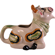 Happy Cow Ceramic Creamer - Occupied Japan 1947 to 1952