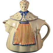 Vintage Lady Covered pitcher creamer marked USA - Excellent condition
