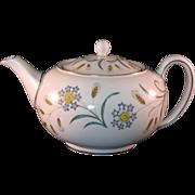 Wedgewood Bone China Wheatear W4051 Teapot Mid 20th Century