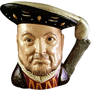 Royal Doulton Large Toby Jug Henry VIII – 1975 D6642