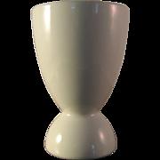 Vintage T&V Limoges White Porcelain Egg Cup France Marked