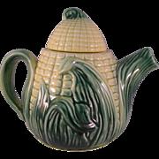 Cob of Corn Tea Pot Stanfordware Pottery #511 - 1960's Vintage Kitchen Décor