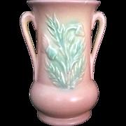 "Hull Pottery Pink Matte Thistle Vase 33 – 6 ½"" USA"