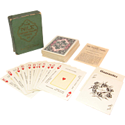 The Nile Fortune Cards Deck of cards in Original Box early 1900's