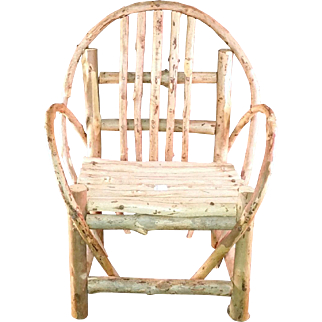 Vintage Willow Large Doll chair circa 1970's