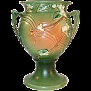 """Rare"" Roseville Pottery Late 1940s Snowberry Pattern Trophy Vase 1UR-8"""