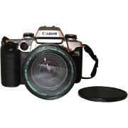 Canon EOS Elan II 35 mm SLR Camera EF 28-200 mm 1:3.8-5.6 Aspherical Lens & Bag