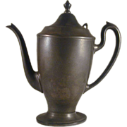 Vintage Solid Pewter Teapot Beautiful Classic Design Domed Lid With Finial Made Especially for Gimbles Department Store