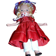 STORY BOOK DOLLS , Early Bisque Moveable arm , 1940's