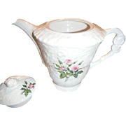Blush Pink STEUBENVILLE (also known as rose point )  coffee pot,