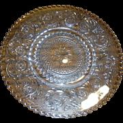 DUNCAN AND MILLER vintage Sandwich pattern, Dinner Plate