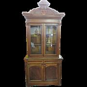 Eastlake Victorian Walnut Cupboard Circa 1880