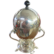 James Dixon & Sons Sheffield Electroplate Art Nouveau Egg Coddler Designed By R. Stewart Glasgow c. 1890s