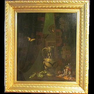 Antoine Ferdinand Attendu (French, 1845-1908) Still Life. Oil on canvas Painting