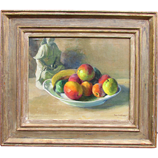 Slill Life with Fruits by Russian-American artist Ivan Olinsky