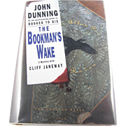 "=Signed 1st Edition= John Dunning: ""The Bookman's Wake"""