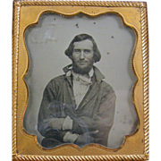 -Dead-Ringer- actor Ray McKinnon 1860's ambrotype photo