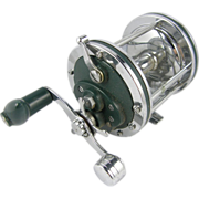 "421 Heddon Fishing Reel, American, 3.5"" big game billfish and tarpon"