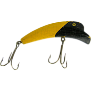 Fishing lure, deep diver yellow & black