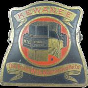 Kewanee advertising paperholder or paperclip ca.1940, office or library