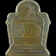 Paperholder, ca.1890, Brooklyn NY malt