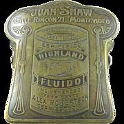 Paperholder, ca.1900, Argentina, A&C motif
