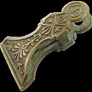 Paperholder, 1875, bronze rococo Victorian