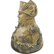 Paperholder paperclip, ca.1880, painted, Emperor Napoleon, office library