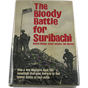 "=Signed 1st Edition= Richard Wheeler: ""The Bloody Battle for Suribachi"""