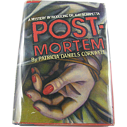 "=Signed 1st Edition= Patricia Cornwell: ""Post-Mortem"""
