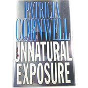 "=Signed 1st Edition= Patricia Cornwell: ""Unnatural Exposure"""