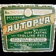 MIB Pfleuger Autopla surf casting fishing reel & box