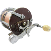 Fishing reel, Penn Peer No. 209 peer casting, Made In USA, ca.1970.