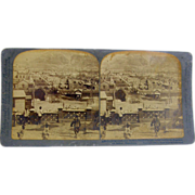 -SCARCE- 1904 Antique stereoview, Sino-Russian War, Port Arthur Manchuria