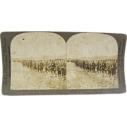1905 Sino-Japanese War, Manchuria, antique stereoview by Kelley and Chadwick