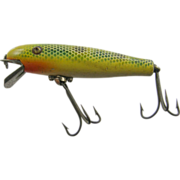 Fishing lure, 1950's Pflueger Palomine minnow