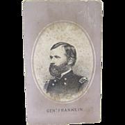 CDV 1864 General Franklin
