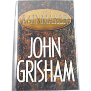 "=Signed 1st Edition= John Grisham: ""The Rainmaker"""
