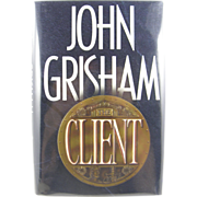 "=1st Edition= John Grisham ""The Client"""