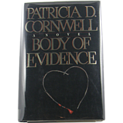 """=Signed 1st Edition= Patricia Cornwell: """"Body of Evidence"""""""