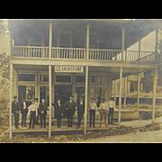 ca.1900 storefront with signage OHIO