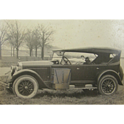1924 BUICK touring car, camping gear, golf clubs