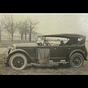 1924 BUICK touring car, camping gear, golf clubs