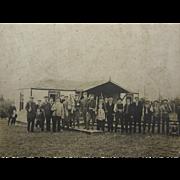 1930's shooting range trap skeet shotguns, hunting camp