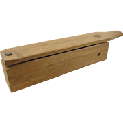 "=RARE= turkey call, ""prototype"", long paddle box type"