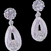 Actress Melora Hardin's Crown Trifari Diamanté Earrings in Fine Magazine (November 2016) Photo