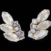 "D&E Juliana ""Hint of  Yellow"" Sparkling Rhinestone Earrings"