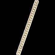 Victorian | Gilt | Seed Pearl | Bar Pin